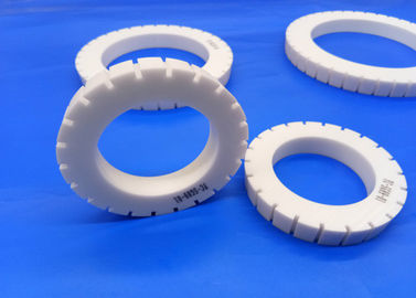 Customized High Precision Zirconia Ceramic Gear Wheel Alumina Ceramic Sealing Rings / Spacers Industrial Part
