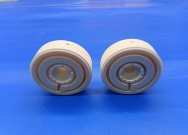 Custom Alumina Ceramic Machinable Disc Block 99.7% Al2o3 Valve Disk