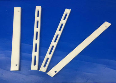 White Color Precision Ceramic Components Zirconia Ceramic Slide Track Sliding Gate Rail Actuator Tracks