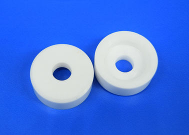 Thin Flat Standard Al2o3 Zro2 Thermal Insulation Ceramic Washer / Flange / Spacer