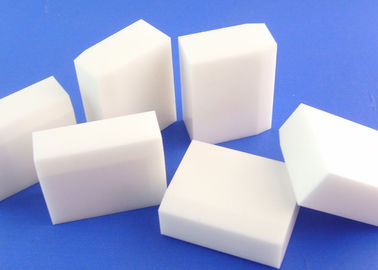 High Temperature Resistance 99 Alumina Ceramic Tile / Block / Brick Machinable