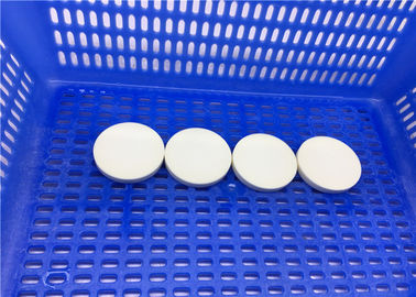 OEM Polishing Zirconia Ceramic Disc Al203 High Purity 92% To 99.9%