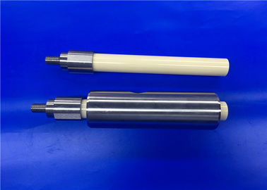 Ceramic Dosing Piston with Guide Edge for Food-processing and Pharmaceutical Industries