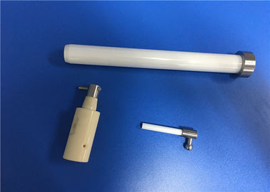 High Pressure 99.7% Alumina Ceramic Piston Rod for Water Jet Cutting Machine