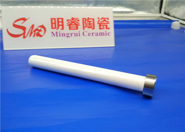 Cylinder Chamfer Anti-high Temperature Resistance To Break Ceramic Bar Fine Polished