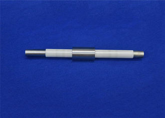 Combination Zirconia Ceramic Rod Vs Steel Stainless Steel Shaft Ceramic Tube