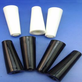 Nonporous Alumina Ceramic Rods and Discs black or white or blue color
