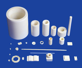 Custom Multi Type And Sizes Ceramic Tubes Alumina Zirconia Silicon Ceramic Tube Types Roller Bushing Rod