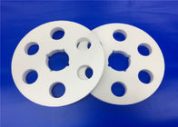 China High Heat Resistance Porous Refractory Zirconia Ceramic Disc Tolerance ± 0.001mm company