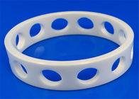 High Performance Machinable Zirconia Ceramic Rings Insulation 6.0g / cm3 Density