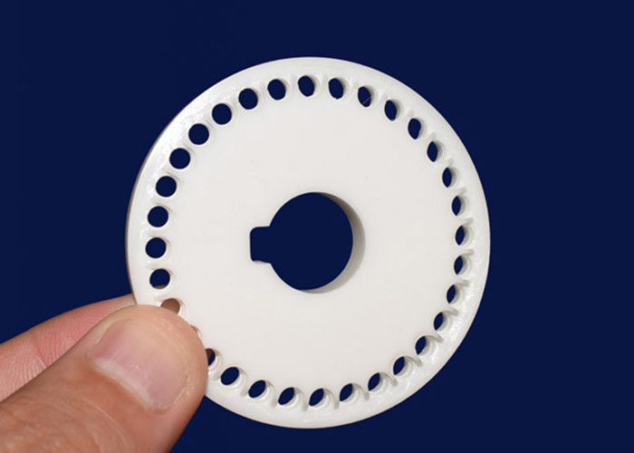 Wear Resistance Al2o3 Ceramic Disc For Automatic Dispenser Electrical Insulation