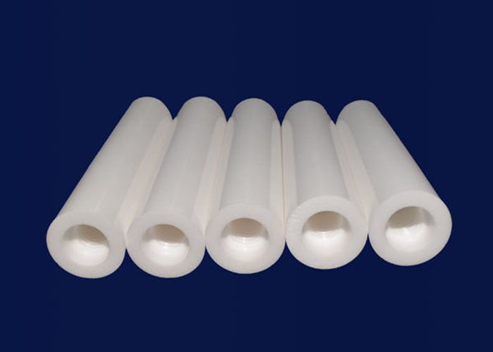 Precision Polishing Industrial High Alumina Ceramic Tube Insulation High Purity