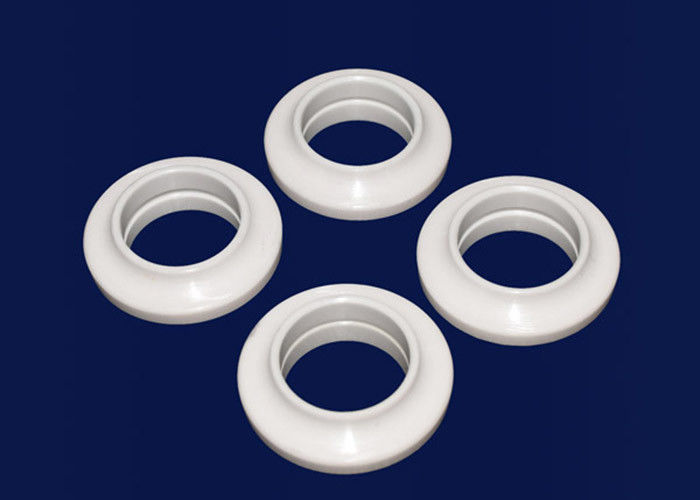 High Hardness Mechanical Ceramic Seal Rings Precision Ceramic O Rings Machining