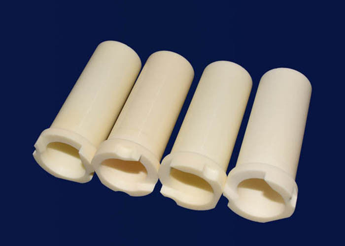 High Strength Ceramic Thermocouple Insulators Tube / Ceramic Machining Services