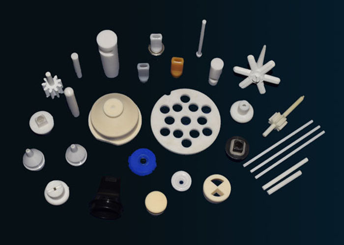 Professional Industrial Ceramic Parts , Al2O3 Alumina Ceramic Insulator Parts