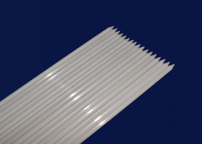 Alumina / Zirconia Machinable Ceramic Rod Ceramic Pipe High Temperature Resistance