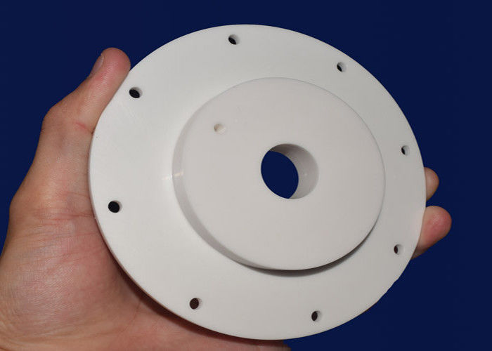 Custom Presicion Small Ceramic Washers Ceramic Disc For Taps CNC Machining