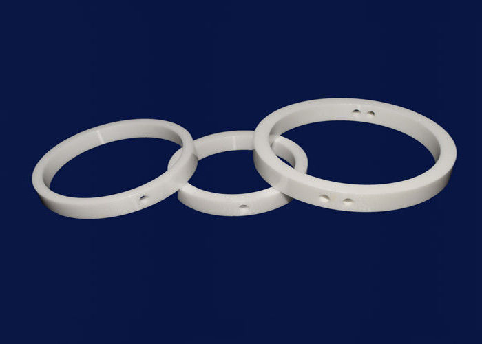 ZrO2 Zirconia Ceramic Seal Rings / Ceramic Electrical Insulators High Purity