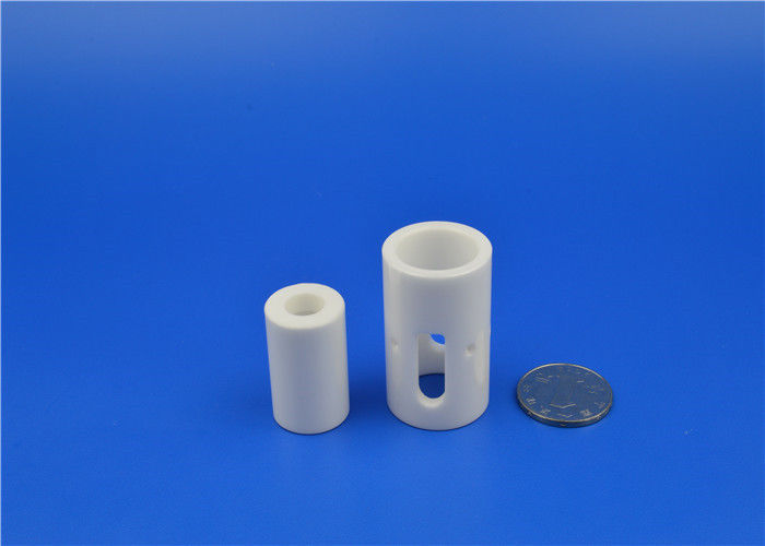 OEM Industrial Ceramic Parts Alumina Zirconia Ceramic Sleeve Bushings Ceramic Cylinders