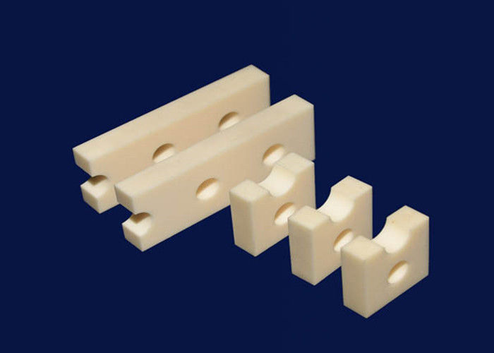 High Purity 99% Alumina Ceramic Position Block Machinable Engineering Ceramics