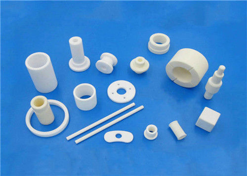 Thermal Insulation Precision Ceramic Machining Washers / Rings / Rods / Blocks