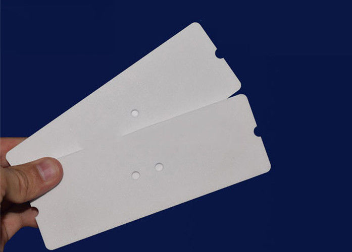 Customized dimension 95%-99% AL2O3 Alumina heat resisting industrial ceramic plates with high precision
