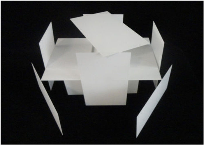 High Precise Alumina Ceramic Plate / Zirconia Ceramic Sheet With Mirror Polished