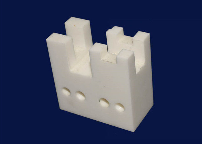 High Temperature Machinable Ceramic Blocks Two Three Holes / Muti Holes Ceramic Blocks