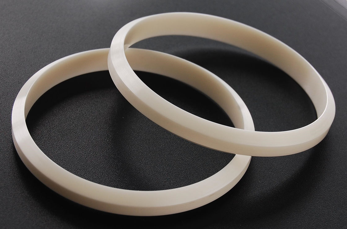 ISO 9001 Industrial Ceramic Seal Rings / Zirconia Ceramic Ring For Pad Printing