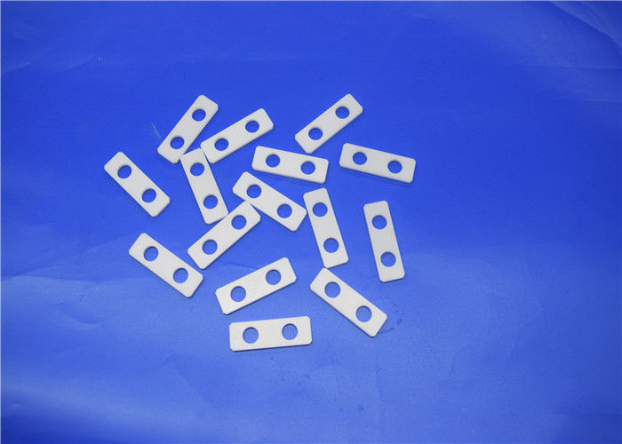 Alumina Ceramic Insulator Plates Machinable Ceramic Sheet For Transistor Heat Sink