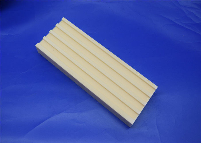 Machinable Ceramic Block  Ceramic Mill Lining Brick Liner with Tongues and Grooves
