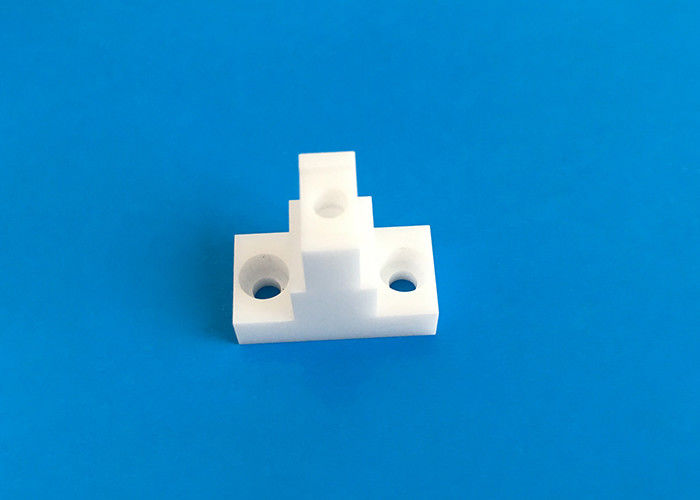OEM Zironia Ceramic Parts / Ceramic Block with Holes for Supporting and Connecting