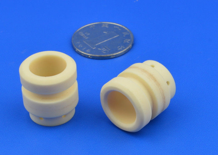 High Purity Alumina Components / Alumina Bushing / Alumina Sleeve with Groove