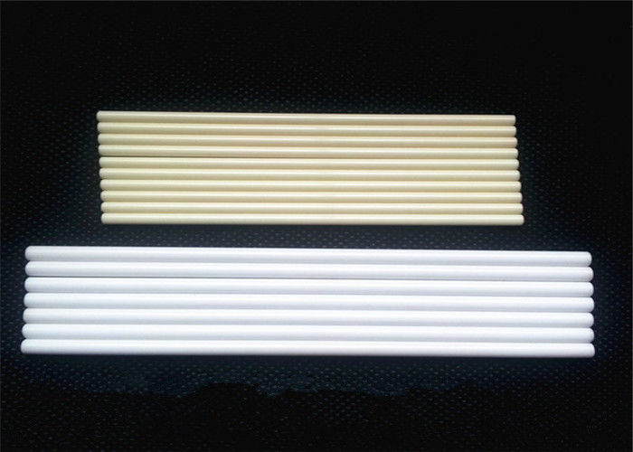 Customized High Pure Polished Corundum Alumina Ceramic Rod / Ceramic Round Bar