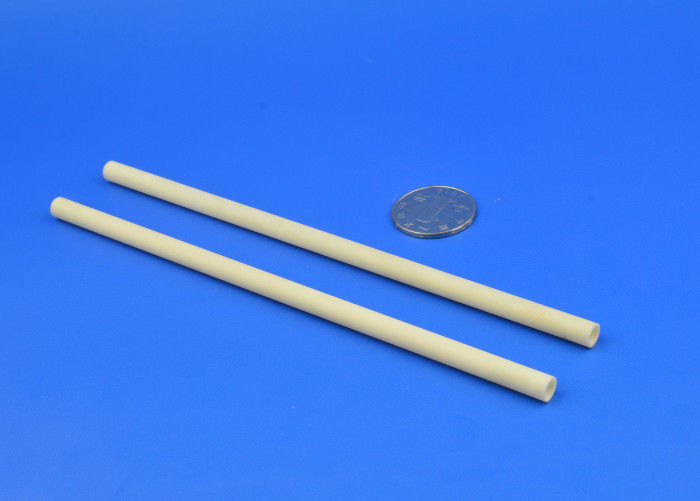 High Temperature Small Ceramic Tube for Furnace white Color