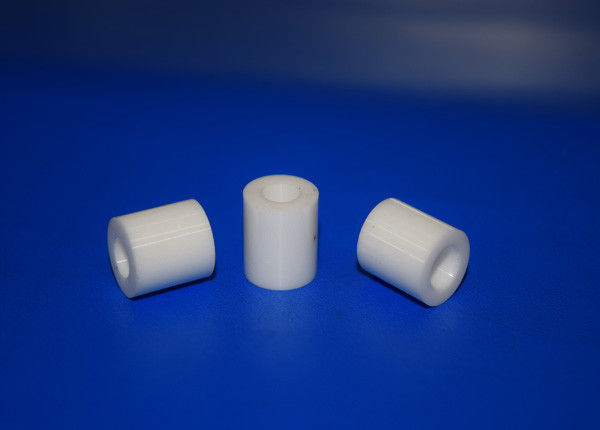 95 Alumina Ceramic Tube 99% Al2o3 Heat Insulating Parts With High Polished Surface