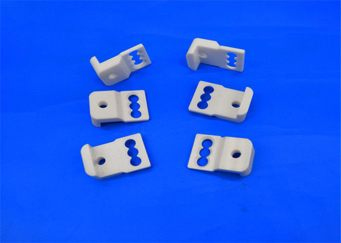 Security Alumina Ceramic Parts High Thermal Conductivity Three Hole Ceramic Pressure Switch