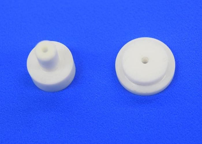 Micro Hole Zirconia / Alumina Ceramic Sandblasting Nozzles For Spraying Dispensing