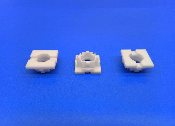 Small Size Machining Ceramic Parts Zirconia Square Shaped Lantern Ring / Piece / Parts