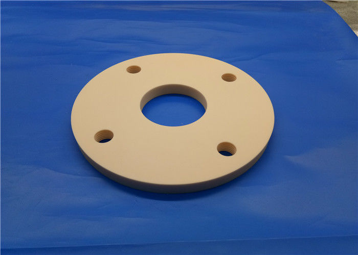 High Wear Resistance 99% Alumina Ceramic Disc With Precision Screw