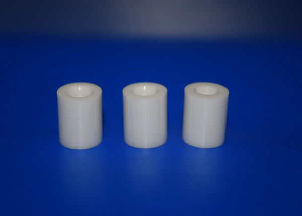 High Alumina Ceramic Tube 99% Al2o3 Insulator Parts Round Shape With Fire Resistance