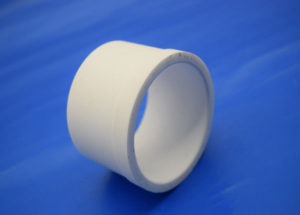 Large Size White Alumina Mud Pump Alumina Ceramic Tube / Lining / Sleeve / Ring