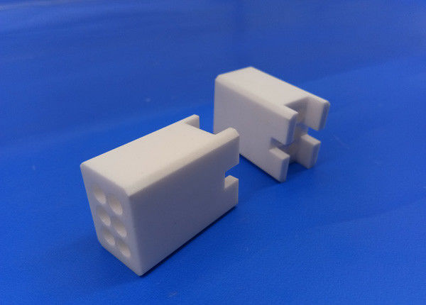 Corrosion and Wear Resistance Zirconia Machinable Ceramic Porous Block in White Color