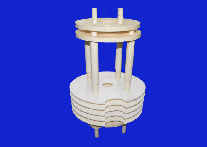 "Ceramic Semiconductor Wafer Boat For Diffusion Of 8"" Wafer Processing 25 Wafer Boat"