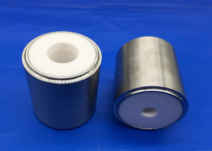 Zirconia Ceramic Cylinder Liner for Mud Pumps Ceramic to Metal Tube