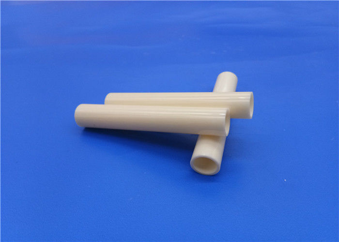 Good Polishing Alumina Ceramic Tube 99% / Insulation Alumina Ceramic Pipe