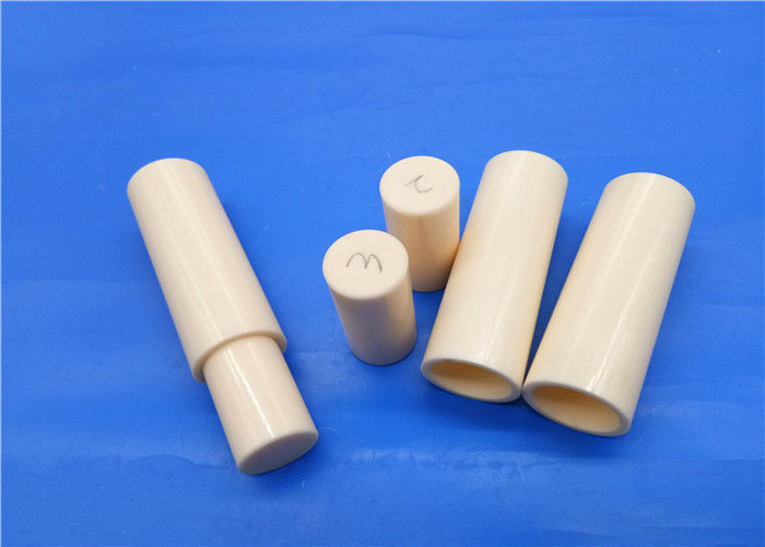High Strength 99% Al2o3 Alumina Ceramic Plunger Pump / Piston Sleeve Hydraulic Piston Pump