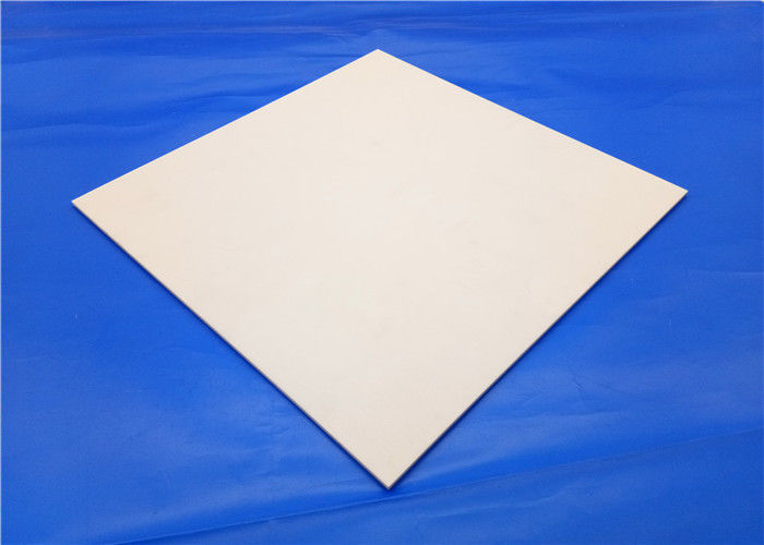 High Strength Yellow 99% Al2o3 Alumina Ceramic Thin Plate / Weiqi Board Chessboard
