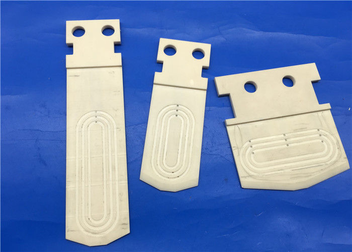 Semiconductor Ceramic Chuck / Ceramic End Effector For Deposition And Ion Implant Machine