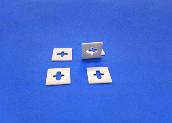 1 Inch Zirconia Square Ceramic Thermal Insulation Standoffs And Spacers For Heat Shield
